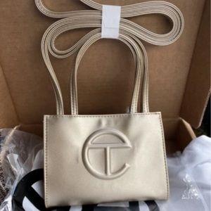 COPY - Telfar Gold Small Shopping Bag